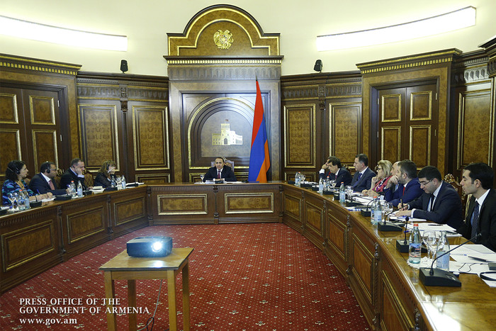 Կառավարությունում քննարկվել է Հայաստանի տնտեսության և ենթակառուցվածքների զարգացման ծրագիրը