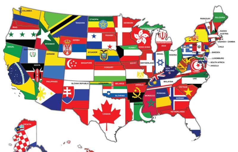 ԱՄՆ-ի տնտեսության նոր քարտեզ՝ հետաքրքիր մոտեցմամբ