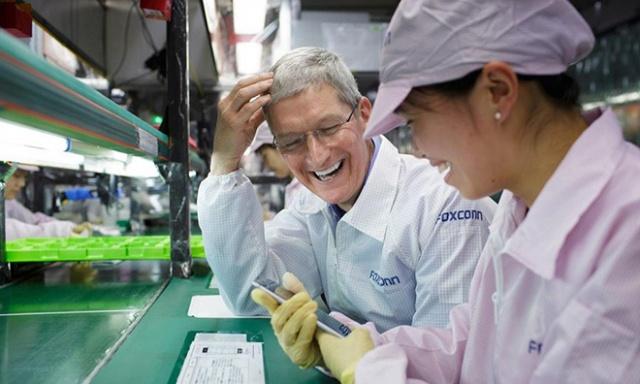 Foxconn-ը Apple-ի շնորհիվ ռեկորդներ է սահմանում