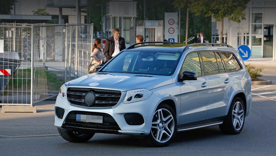 Mercedes-Benz GLS-ն արտաքնապես նման կլինի GLE մոդելին