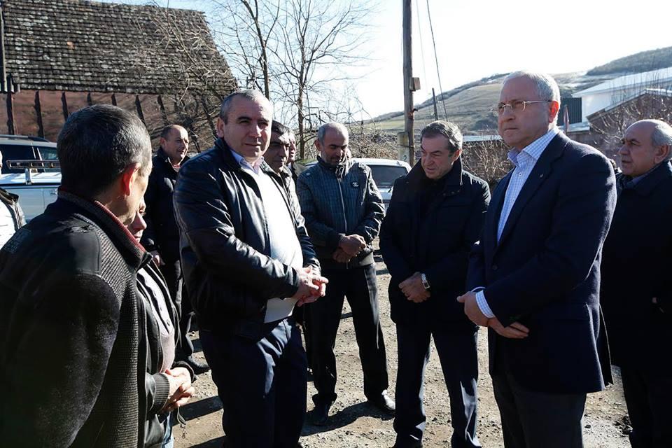 Սերգո Կարապետյանն այցելել է Տավուշի մարզ