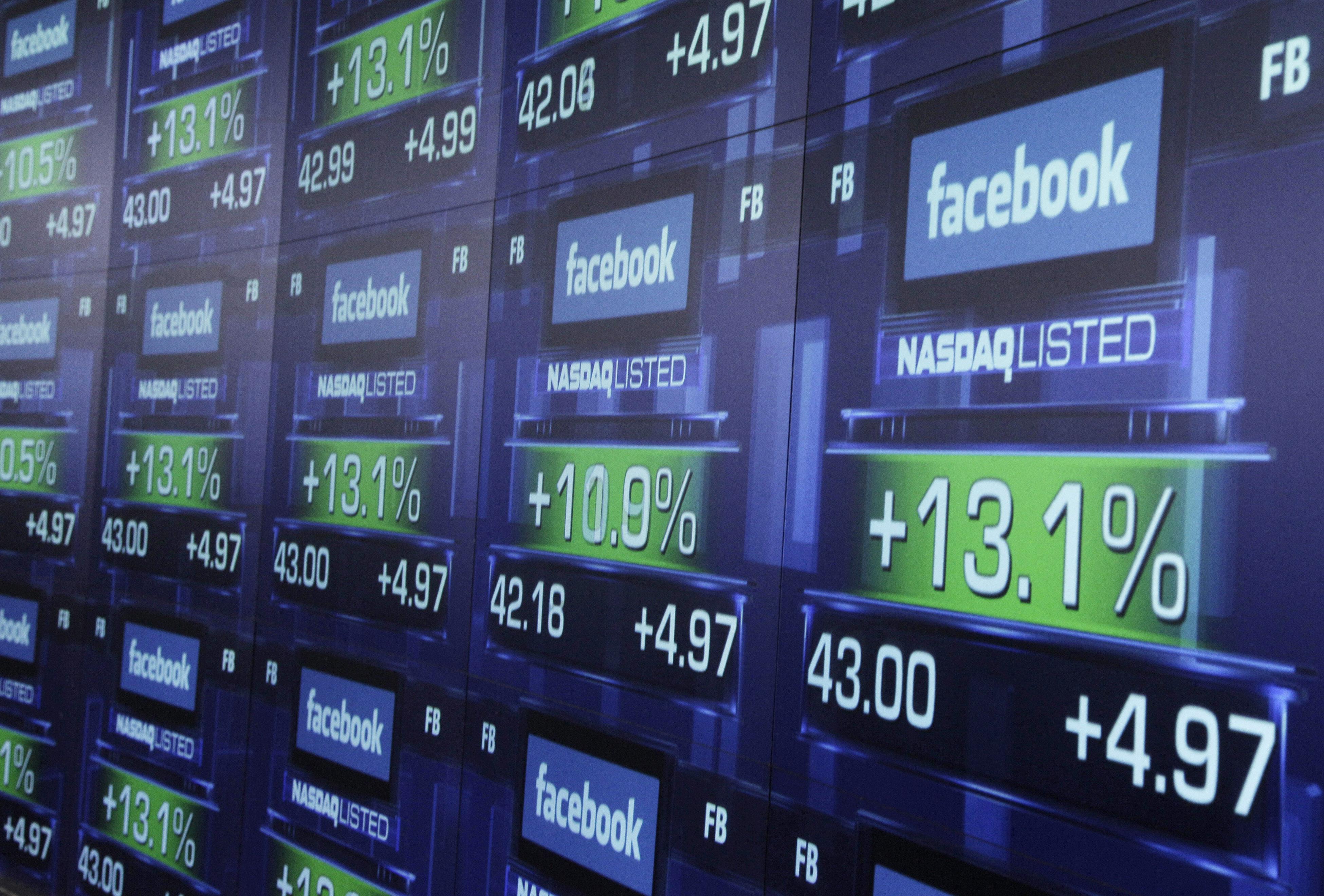 Facebook-ի բաժնետոմսերի արժեքն առաջին անգամ գերազանցել է 100 դոլարը