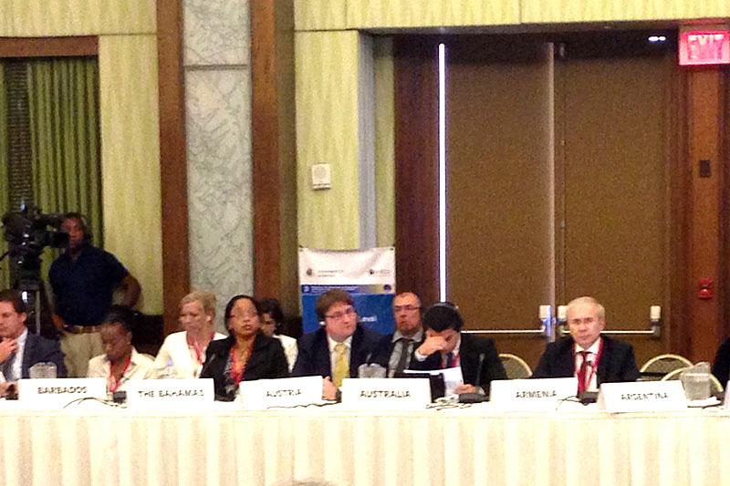 Հայաստանը Տնտեսական համագործակցության զարգացման կազմակերպության գլոբալ ֆորումի անդամ է