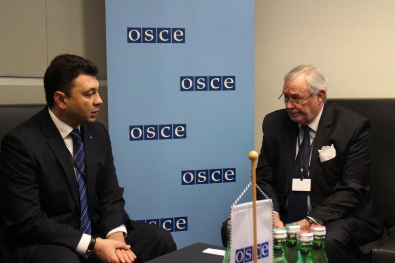 ԱԺ փոխնախագահ Էդուարդ Շարմազանովը Վիեննայում հանդիպել է ԵԱՀԿ ԽՎ-ի գլխավոր քարտուղարի հետ