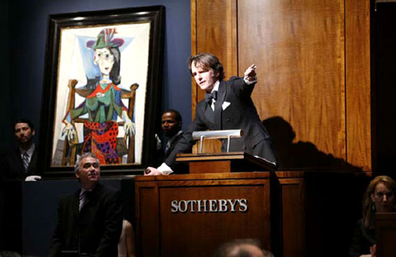 Sotheby's-ում մեկ ժամում վաճառվել է Կլոդ Մոնեի 5 կտավ