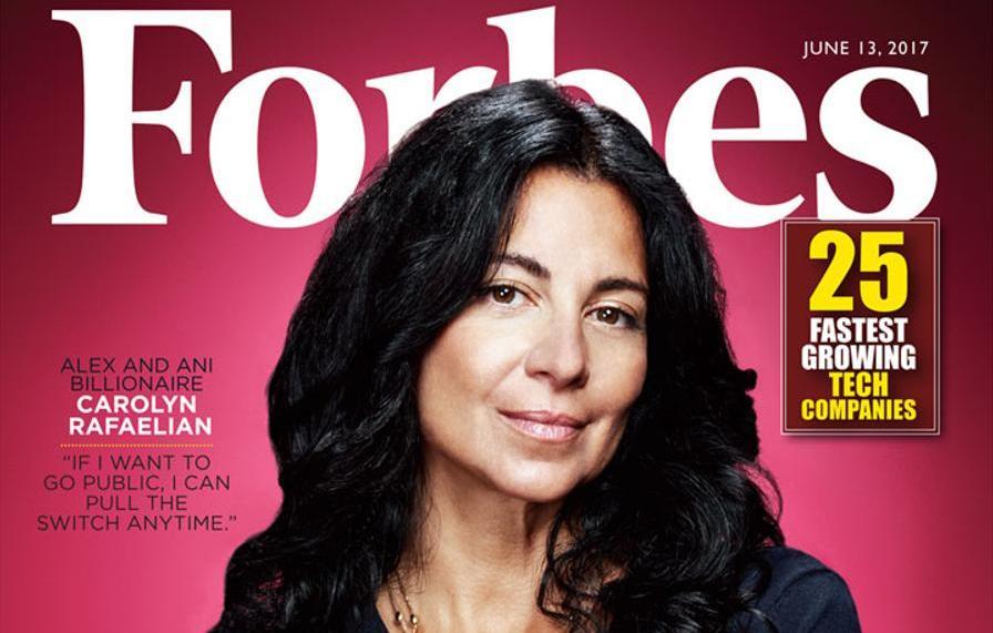 Աշխարհի ամենահարուստ հայուհին՝ Forbes պարբերականի շապիկին