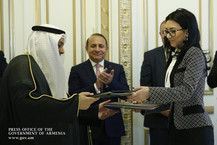 ՀՀ և Քուվեյթի միջև ստորագրվել է քրեական գործերով փոխադարձ իրավական օգնության մասին համաձայնագիր