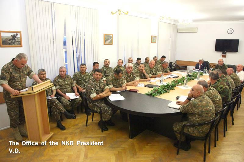 ՀՀ և ԼՂՀ նախագահներն այցելել են առաջնագիծ