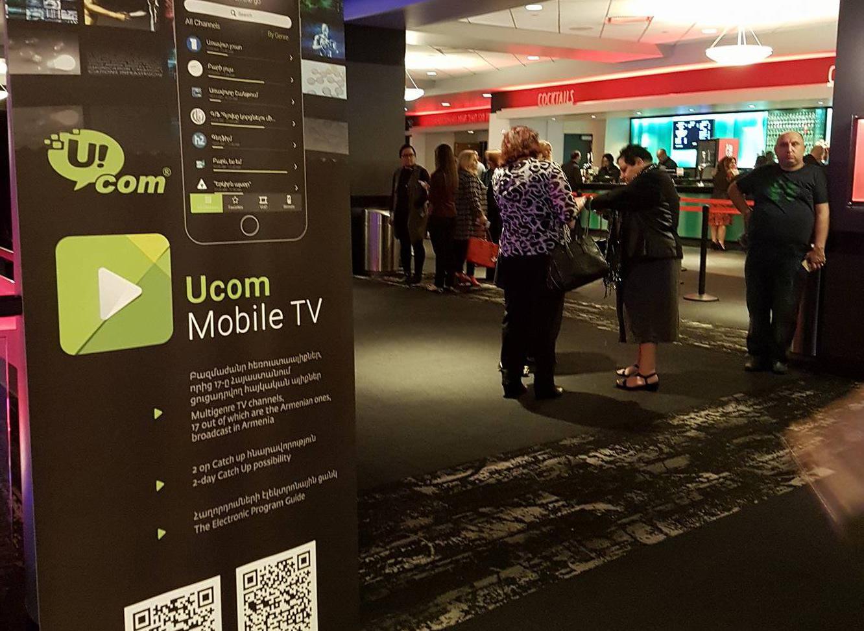 Ucom. ԱՄՆ-ում ներկայացվեց Mobile TV հավելվածը
