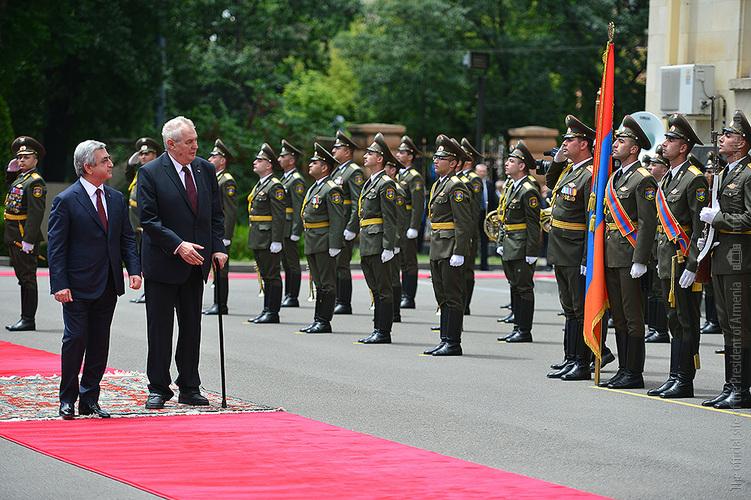 Սերժ Սարգսյանի նստավայրում տեղի են ունեցել հայ-չեխական բարձր մակարդակի բանակցություններ