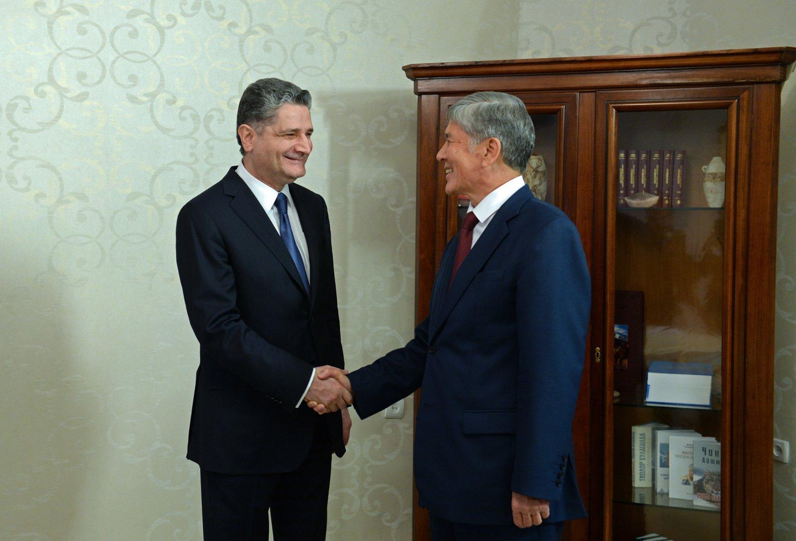 Տիգրան Սարգսյանը Ղրղզստանի նախագահի հետ քննարկել է ԵԱՏՄ առաջնահերթությունները