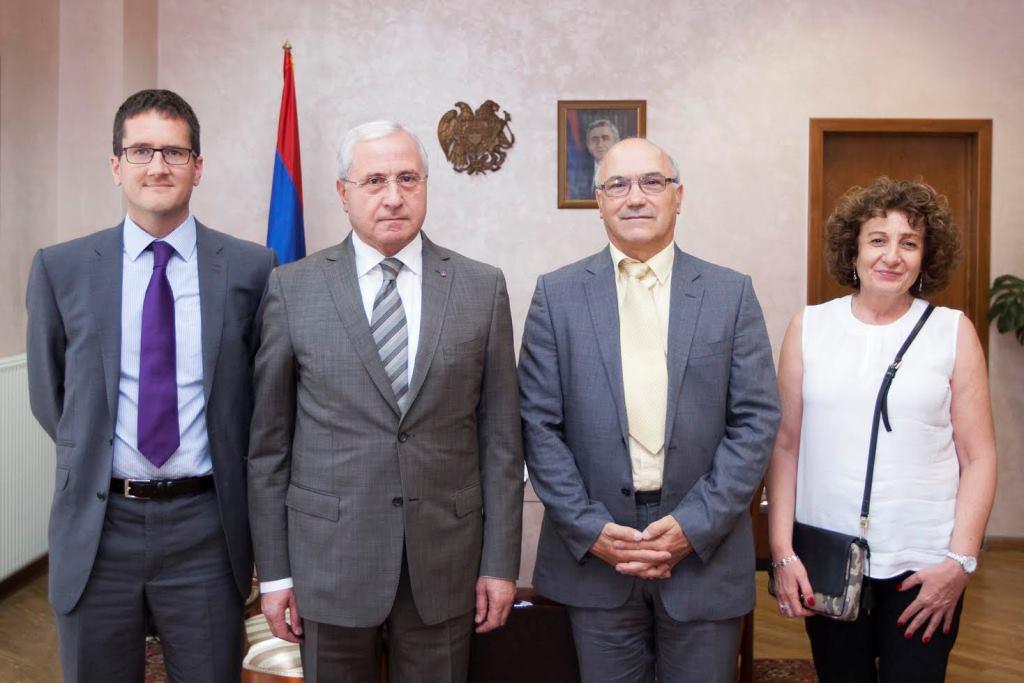 Սերգո Կարապետյանն ընդունել է Օքսֆամի պատվիրակությանը