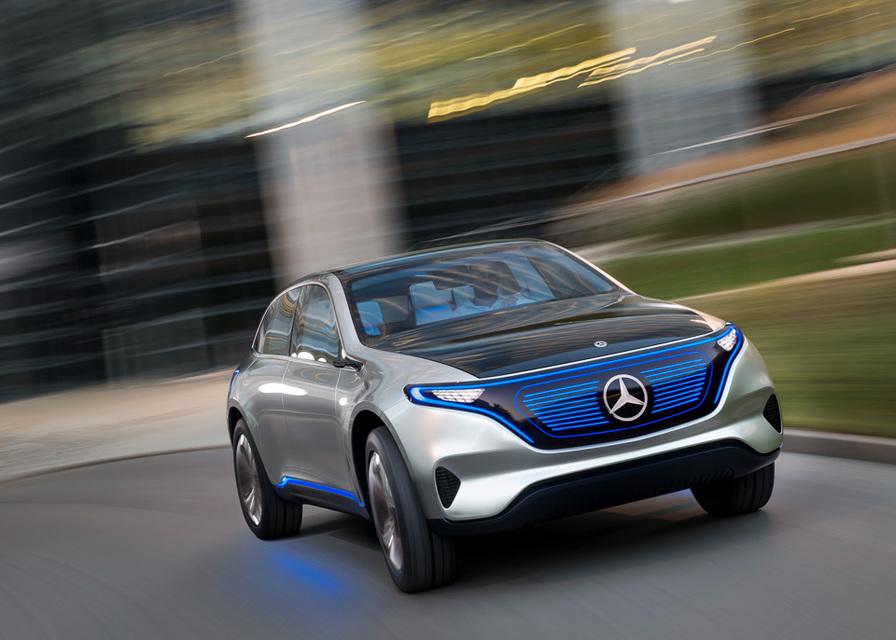 Mercedes-Benz-ը Փարիզում ներկայացրել է Generation EQ էլեկտրամեքենան