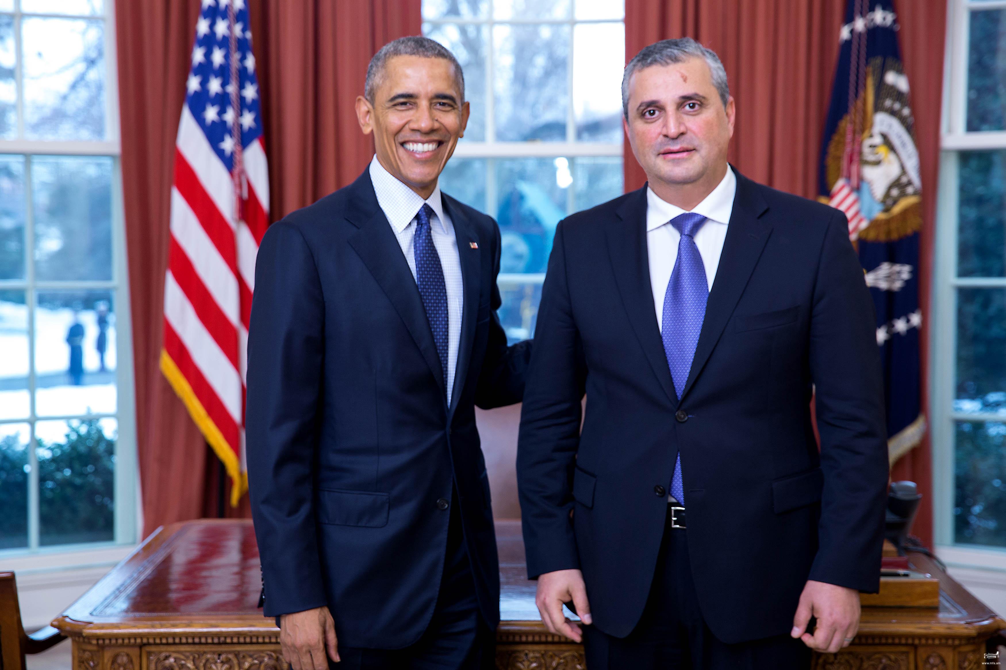Բարաք Օբամա. 2015թ. Հայաստանում ԱՄՆ ներդրումները հասել են պատմական մակարդակի