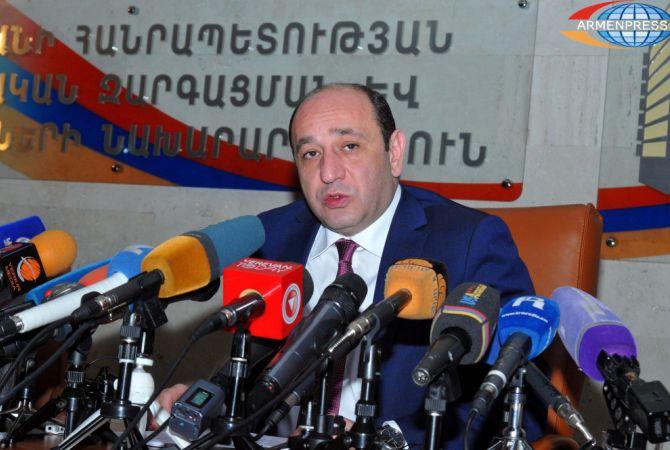 Սուրեն Կարայան․ Հայաստանը ցանկանում է ավելացնել ԱՄԷ արտահանման ծավալները