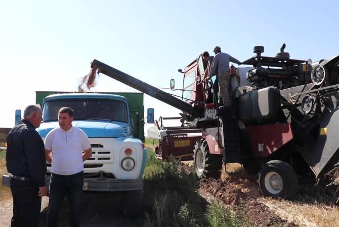 Մեծ Մասրիկի գյուղատնտեսական մեքենաների պարկը թարմացվել է լիզինգային ծրագրերի հաշվին