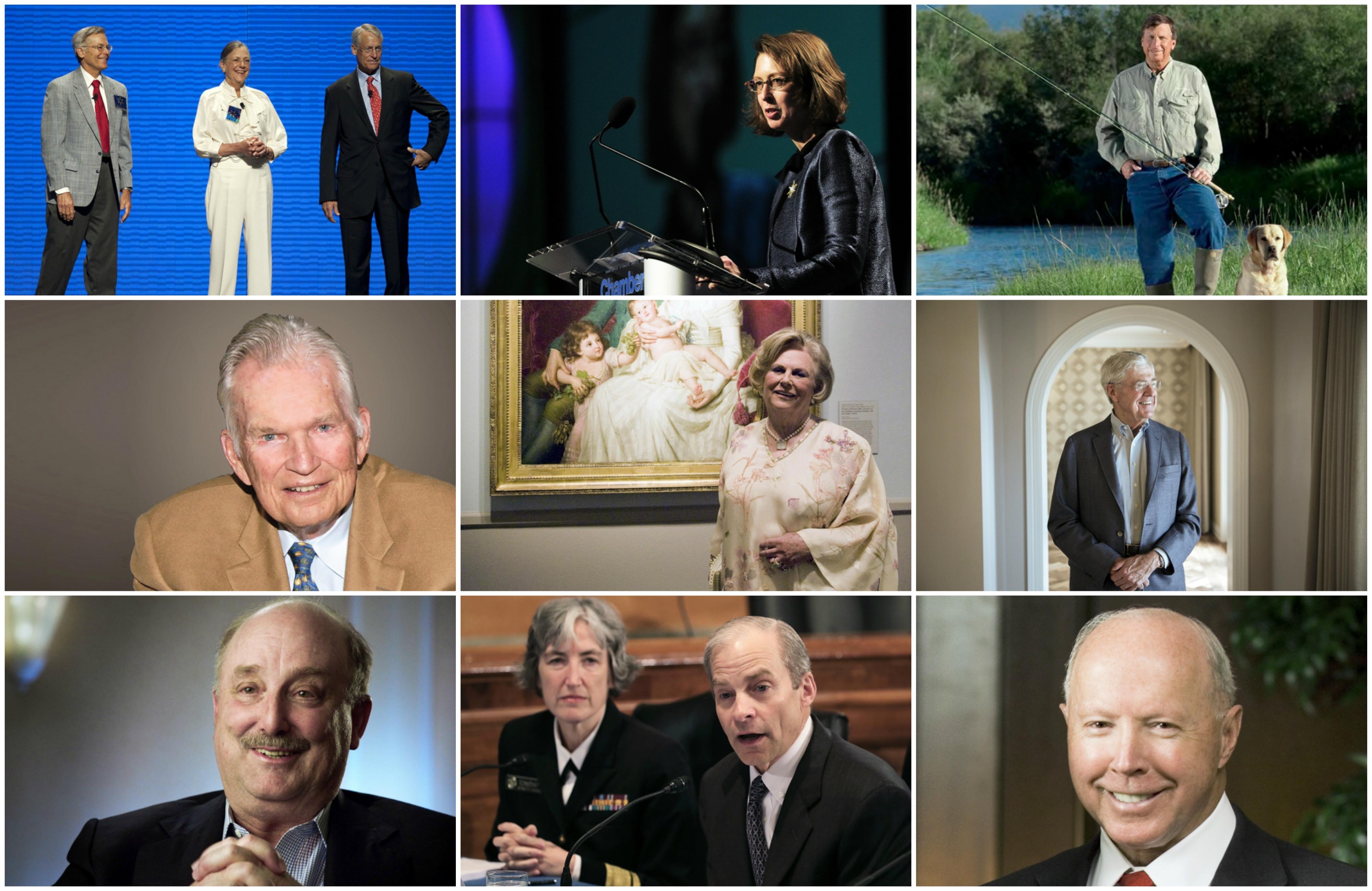 Forbes. ԱՄՆ-ի ամենահարուստ ընտանիքները