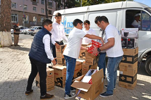 Գազպրոմ Արմենիա. համակարգիչներ` ԼՂՀ կրթական հաստատություններին