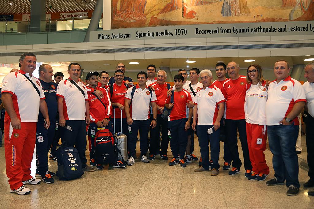 Ucom. օլիմպիական հավաքականի մարզիկների երկրորդ խումբը մեկնեց Ռիո դե Ժանեյրո
