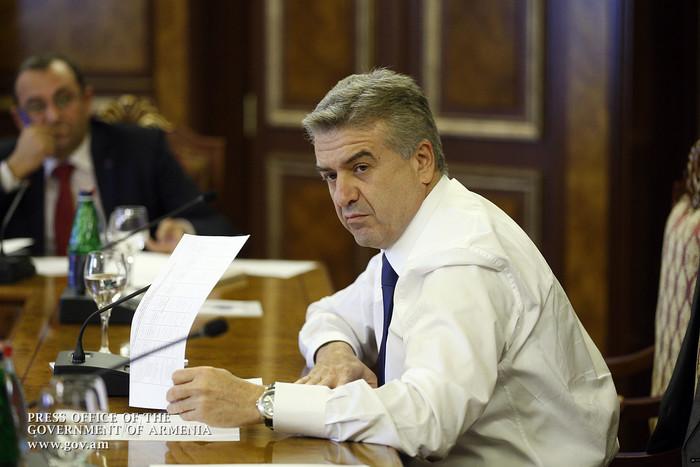 Կարեն Կարապետյանը հանդիպել է Հայաստանի 10 խոշոր հարկ վճարող կազմակերպությունների ղեկավարներին