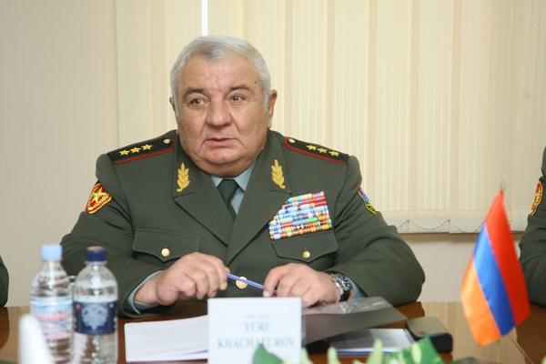 Նախագահի հրամանագրով Յուրի Խաչատուրովը նշանակվել է Ազգային անվտանգության խորհրդի քարտուղար
