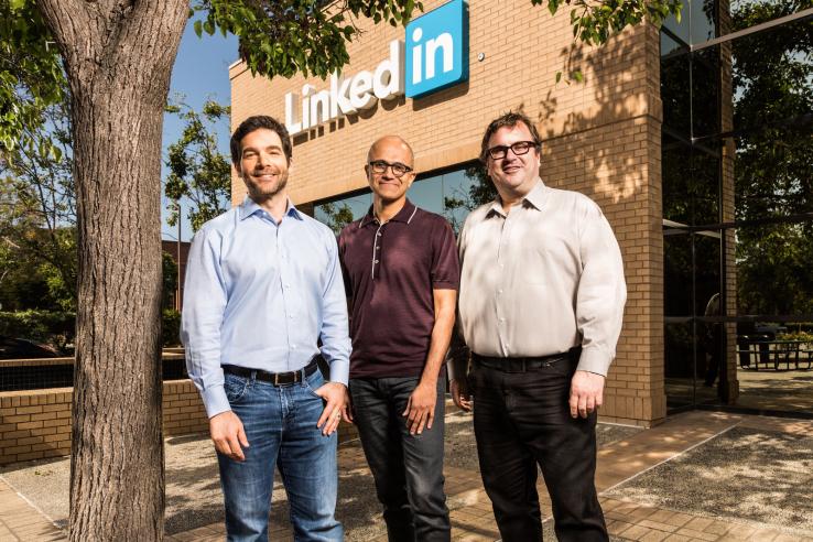 Microsoft-ը 26.2 մլրդ դոլարով գնում է Linkedin-ը