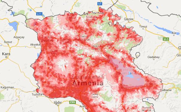ՎիվաՍել-ՄՏՍ. ծածկույթի քարտեզը և տեխնոլոգիաների վերաբերյալ տեղեկությունները հասանելի են հանրությանը
