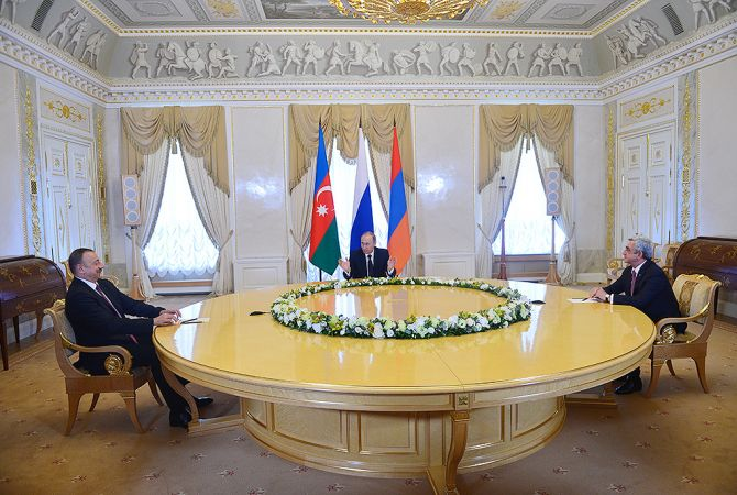 Նախագահներ Սարգսյանը, Պուտինը և Ալիևը պայմանավորվել են շարունակել պարբերական եռակողմ բանակցությունները