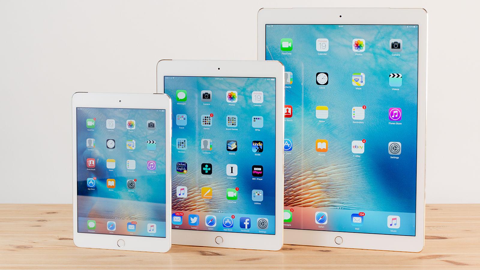 Apple-ը երեք պլանշետ կթողարկի 2017 թվականին