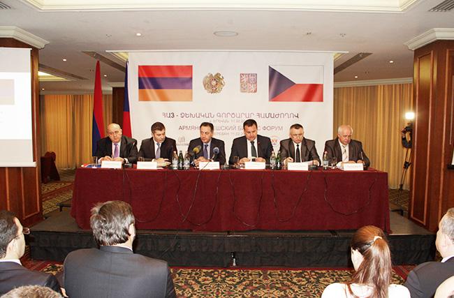 Երևանում մեկնարկել է ՀԱՅԱՍՏԱՆ-ՉԵԽԻԱ գործարար համաժողովը