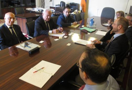 Երվանդ Զախարյանը հյուրընկալել է Moodys միջազգային վարկանշային կազմակերպության պատվիրակությանը