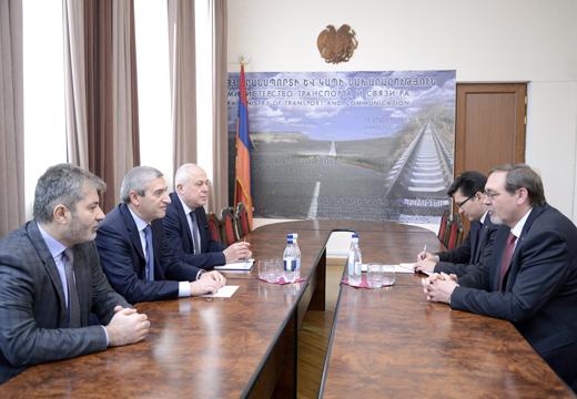Վահան Մարտիրոսյանն ընդունել է Հայաստանում Ռուսաստանի արտակարգ և լիազոր դեսպանին