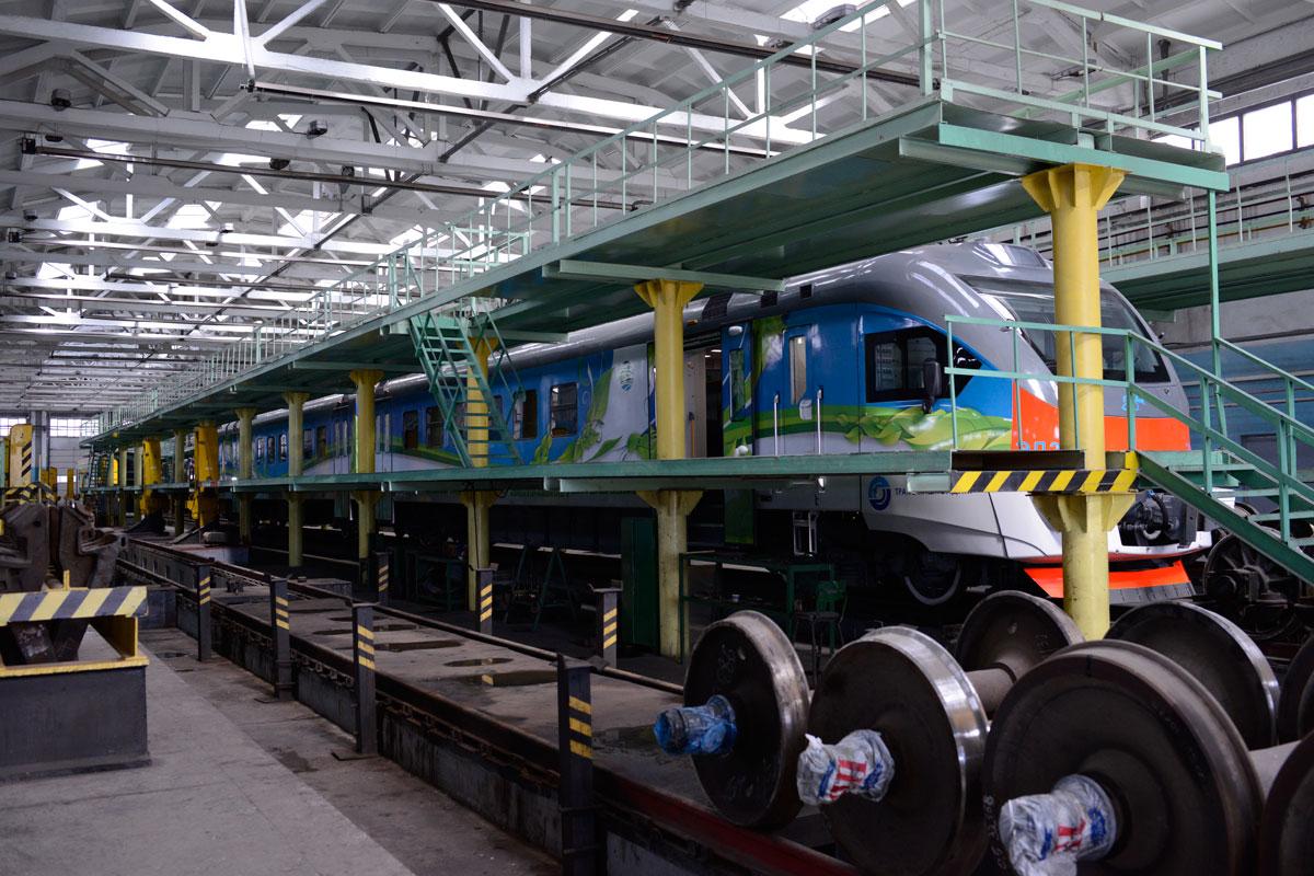Հայաստան է բերվել ամբողջովին նոր, բարձրակարգ և ժամանակակից էլեկտրագնացք