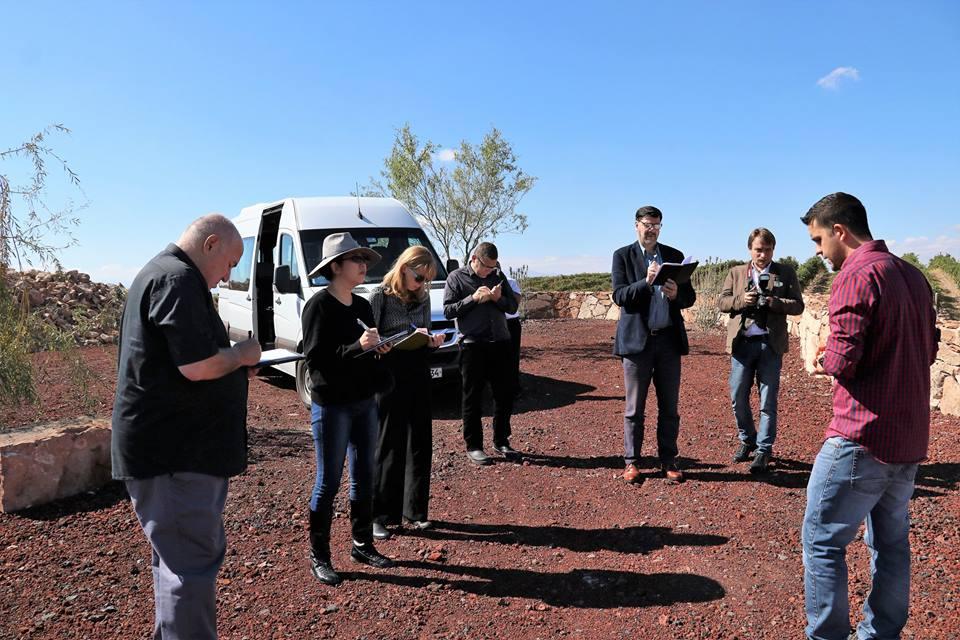 Հայաստան են այցելել գինու ոլորտը լուսաբանող առաջատար լրատվամիջոցների ներկայացուցիչներ և սոմելյեներ