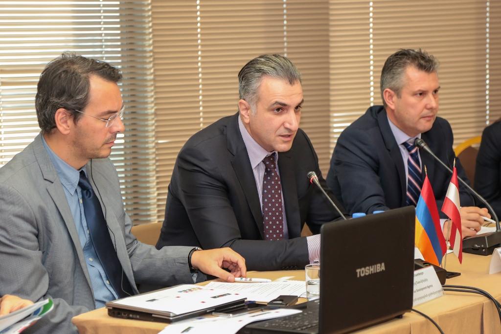 Իգնատի Առաքելյանը մասնակցել է «Կանաչ գյուղատնտեսության զարգացումը Հայաստանում 2018-2022 թվականներին» թեմայով աշխատաժողովին