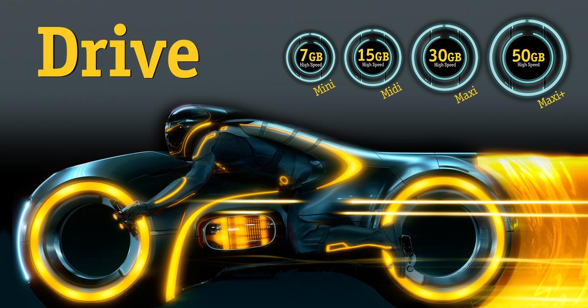 Beeline. Drive բջջային ինտերնետի սակագնային փաթեթների պայմանների փոփոխություն