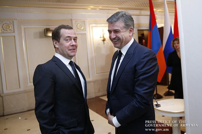 Դմիտրի Մեդվեդև. Ռուսական ընկերություններին կհետարքրի հայ-իրանական սահմանին ազատ տնտեսական գոտու ստեղծումը