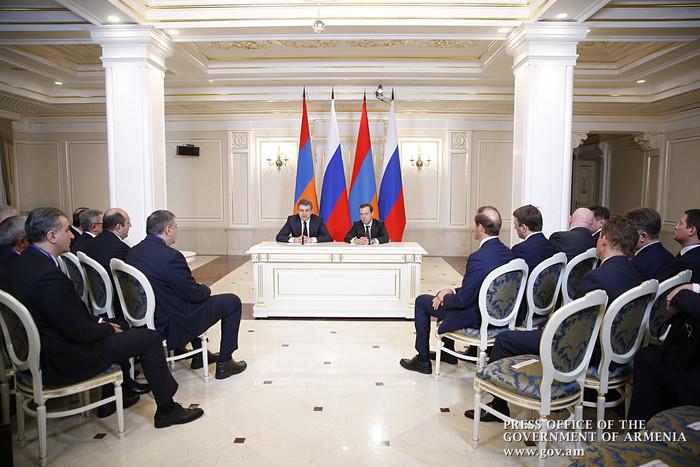 Հայաստանի և Ռուսաստանի վարչապետերը հանդես են եկել ԶԼՄ ներկայացուցիչների համար հայտարարությամբ