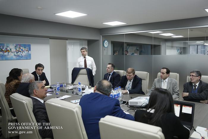 Կարեն Կարապետյանի մասնակցությամբ քննարկվել են Հայաստանում տարբեր ներդրումային ծրագրերում և կառավարման ոլորտում սփյուռքի ներգրավմանն ուղղված հարցեր