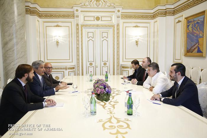 Կարեն Կարապետյանն ընդունել է Հայաստանում ՏՏ ոլորտում ներդրումային ծրագիր նախաձեռնած իտալական IDS ընկերության ներկայացուցիչներին