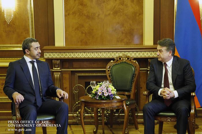 Քննարկվել են հայ-էմիրաթական համագործակցության զարգացման հեռանկարները