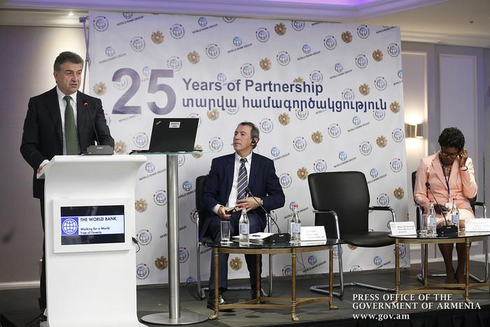 Կարեն Կարապետյան. Համաշխարհային բանկը Հայաստանի Հանրապետության առանցքային գործընկերներից է
