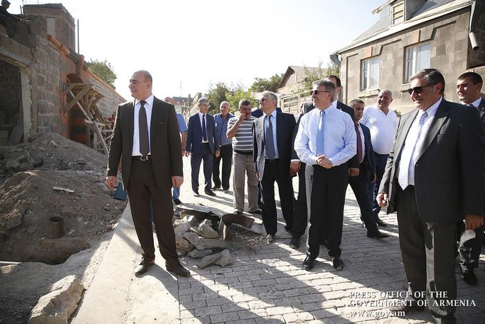 Վարչապետ Կարապետյանի հերթական այցը Գյումրի