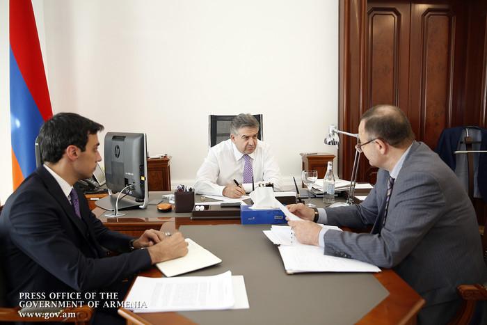 Արմավիրի մարզպետը վարչապետին է ներկայացրել հանձնարարականների կատարման ընթացքը