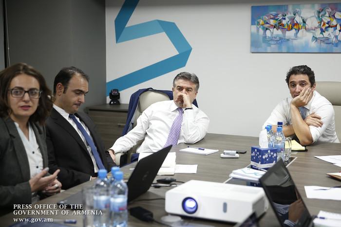 Կարեն Կարապետյանին է ներկայացվել «Հայաստանի թվային օրակարգ» ռազմավարական փաստաթղթի մշակման ընթացքը