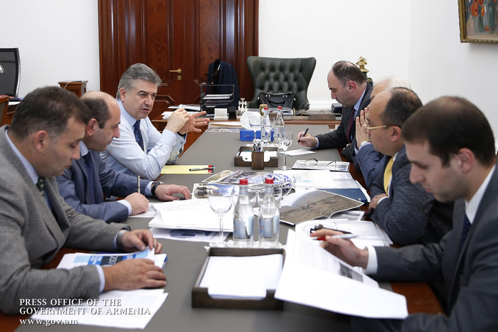 Կարեն Կարապետյանին ներկայացվել է Մեղրի ԱՏԳ ստեղծման աշխատանքների ընթացքը