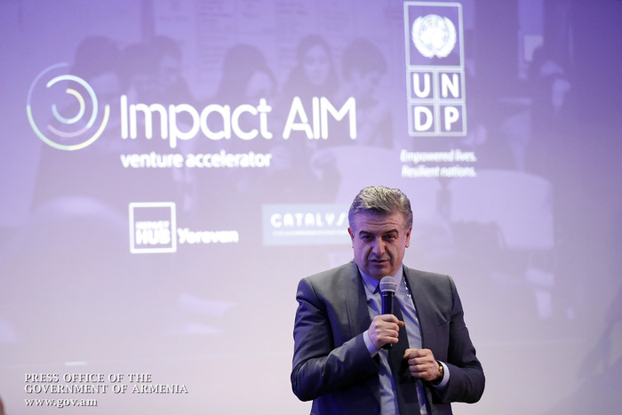 Կարեն Կարապետյանը մասնակցել է ImpactAim աքսելերատորի պաշտոնական բացմանը