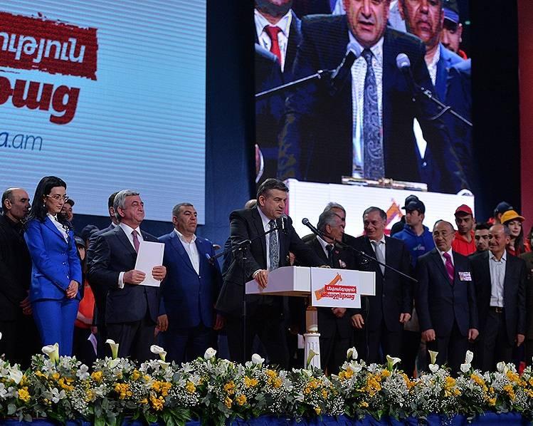 Կարեն Կարապետյանի խոսքը ՀՀԿ նախընտրական քարոզարշավի ամփոփման միջոցառմանը