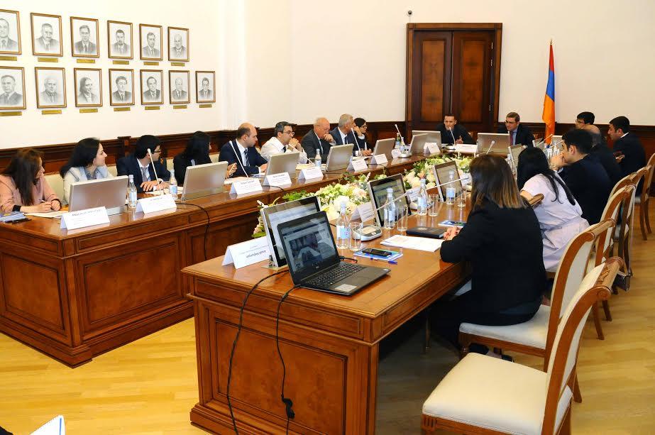 Մեկնարկել են ՏՀԶԿ Գլոբալ ֆորումի պատվիրակության հետ հանդիպումները
