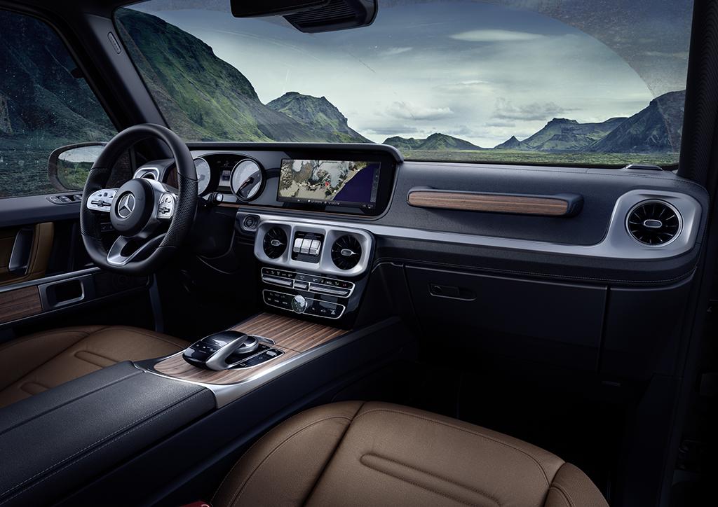 Mercedes-Benz-ը ցուցադրել է նոր G-դասի ներքին դիզայնը